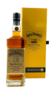 (87,66€/l) Jack Daniel's No. 27 Gold Tennessee Whiskey 40% 0,7l Flasche