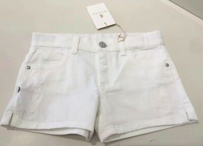 (Brand New with Tag) Gucci kids Shorts white color, 5Y, 6Y and 10Y