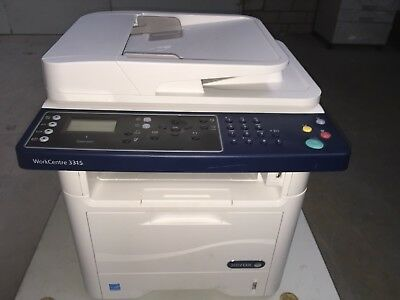 Xerox Workcentre 3325 Multifunktionsgerät Scan Fax Toner