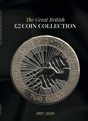 RED 2019 Edition Great British £2 Coin Hunt Collectors Coin Album RED