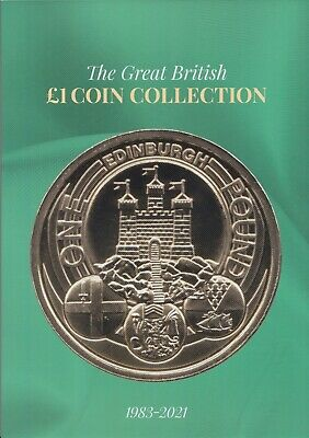 2019 Edition Great British £1 Coin Hunt Collectors Coin Album
