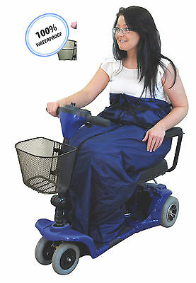 Waterproof Universal Lower Body Fleece Lined Mobility Scooter Cosy