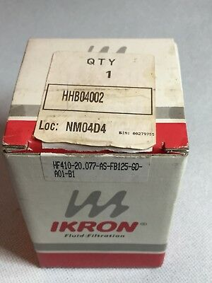 "Ikron HHB04002 Filter HF410 1/2"" SUCTION STRAINER 125MICRON 20LPM"