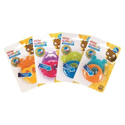 Nuby Simply Animal Soothing Baby Teether Toy Teething Soother Gum Infant Ice Gel