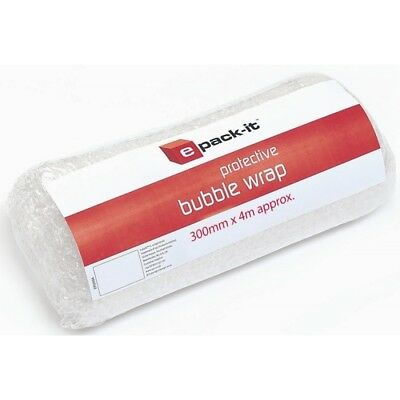 Small Bubble Wrap 300mm x 4M Roll Packaging Cushioning Packing Material