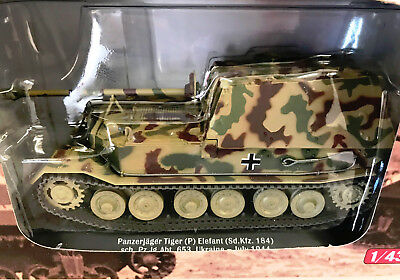 Deagostini 1:43 Tank 1944 Panzerjager Tiger (P) Elefant - New - Free Delivery