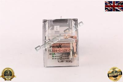 12 Volt 40 Amp Auto Automative Bike Boat Car Van Truck Vehicle Relay (5-Pin)