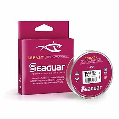 Seaguar Abrazx High Quality 100% Fluorocarbon 200 Yard Fishing Spool Line