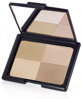New E.l.f. Cosmetics Bronzer Golden 4 Shades Makeup Beauty Mirror Included Care