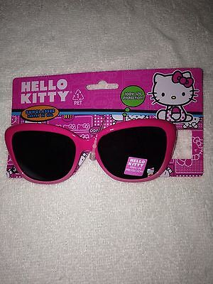 Hello Kitty kids sunglasses pink ages 3 and up beach wear NEW summer Easter