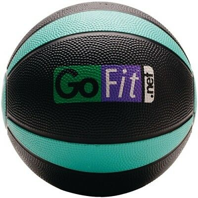 GoFit 1.8kg Medicine Ball and Core Performance Training DVD. Brand New