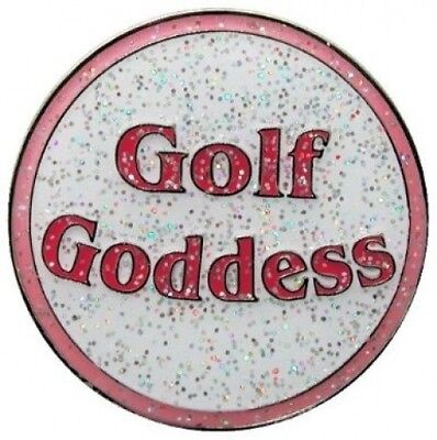 Navika Golf Goddess Glitzy Ball Marker with Hat Clip. Navika USA Inc.. Brand New