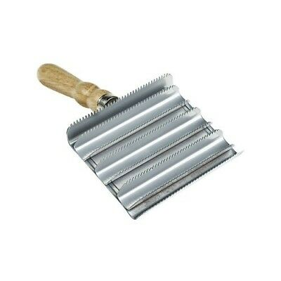 Square Metal Curry Groomer - - Grooming Kit. Horze. Best Price