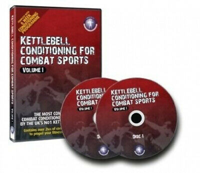 Kettlebell Conditioning For Combat Sports VOL I - 2 Disc DVD PLUS Workout Plans