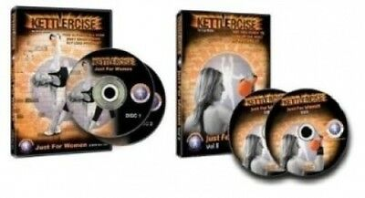 Kettlercise Just For Women VOL I & Vol II Package -THE Ultimate Kettlebell Fat
