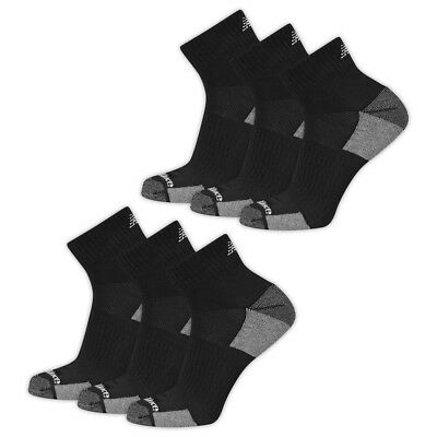 New Balance Men's Core Poly Ankle Socks 6 Pairs