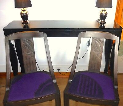 Lot de 2 chaises Art Deco - Excellent état