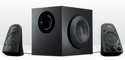 Logitech Z623 200 Watt 2.1 Speaker System #980-000402 Black Nib & Factory Sealed