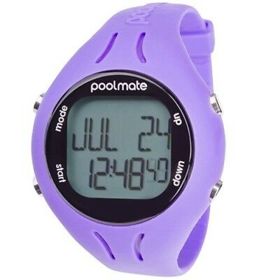 (n/a, Purple) - Swimovate 2 Pool Mate 2 Swim Watch-Purple. Shipping Included