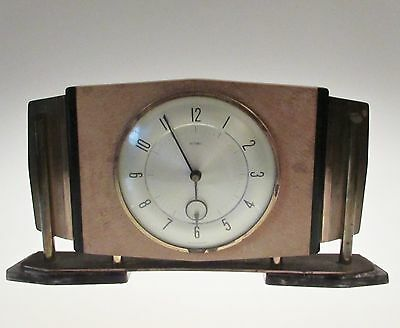 Intersting Art Deco Clock by Metamec