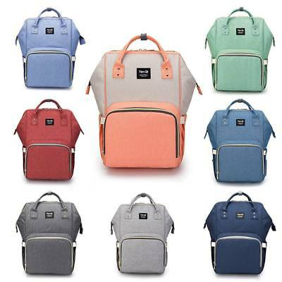 Waterproof Multifunctional Baby Diaper Travel Backpack Changing Bag Nappy Mummy