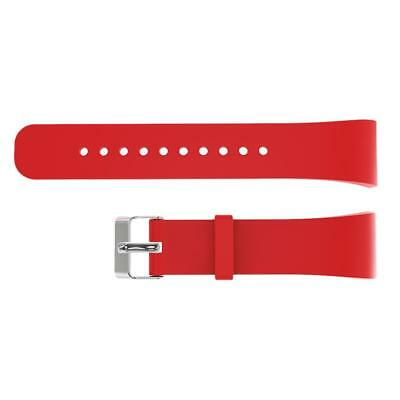 Silicon Strap Wrist Band Holder For Samsung Gear Fit2 R360 R365 Watch Red