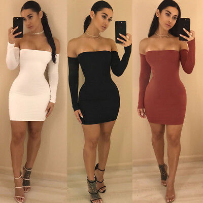 Sexy Women Lady Bandage Bodycon Evening Party Cocktail Club Short Mini Dress b29d45c68
