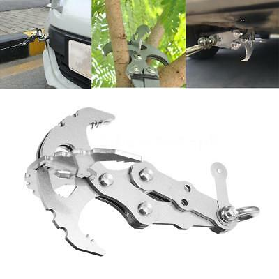 Survival Grappling Gravity Hook Carabiner Climbing Claws Car Traction M1V6