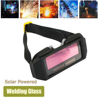 Hot Solar Powered Auto Darkening Welding Mask Helmet Eyes Goggle Welder Glasses