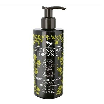 Greenscape Organic Hand Wash - Mint and Bergamot