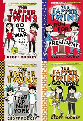 Geoff Rodkey TAPPER TWINS Childrens Humorous Fiction Series PAPERBACK Set 1-4