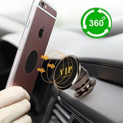 360° Rotate Universal Magnetic Car Mount Phone Holder For Cell Phone iPhone GPS