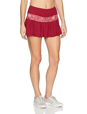 (Small, Ruby/Flyaway Print) - Skirt Sports Women's Lioness Skirt. Best Price