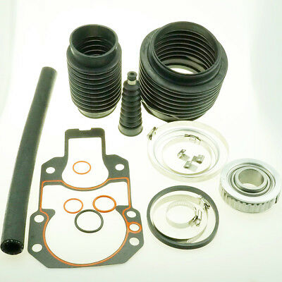 Alpha One, Gen 2 Bellows Transom Seal Repair Kit with Gimbal Bearing 30-803099T