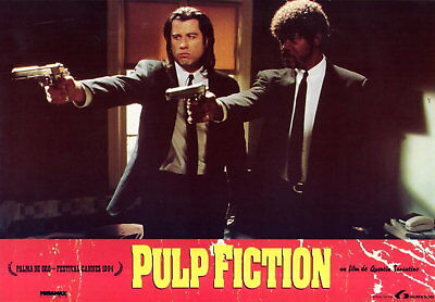 63334 Pulp Fiction 1994 Retro Wall Print Poster Affiche