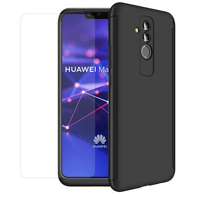 Etui Coque Housse Protection Total 360° + Film Verre Trempe Model Huawei