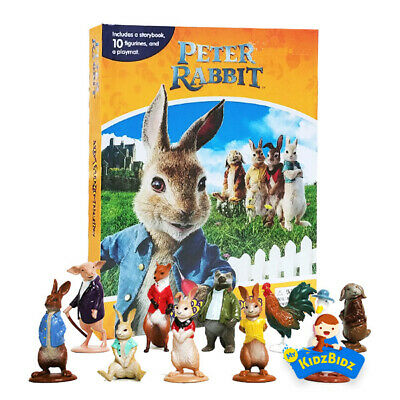 Peter Rabbit My Busy Book, Map, Figures