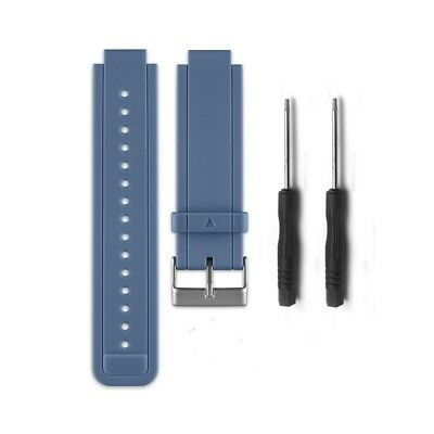 (Slate) - HWHMH Replacement Silicone Bands With Pin Removal Tools for Garmin
