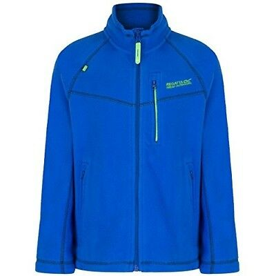 (Size 7 - 8, Oxford Blue) - Regatta Children's Marlin V Fleece. Shipping is Free