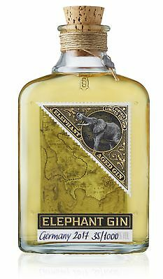 Elephant Gin 0,5L - Limited Cask Aged Edition - | Gin