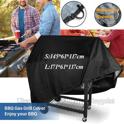 L/S BBQ Cover Outdoor Waterproof Barbecue Garden Patio Grill Protector Covers UK