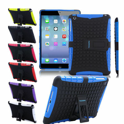 Shockproof Armor Protector Case Cover For iPad Mini 1/2/3/ 4 Air 2 Pro 9.7 NEW O