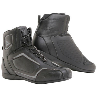 Scarpa Dainese Raptors Air Shoes Black/Black/Anthracite
