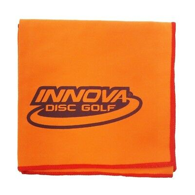 (Orange) - Innova DewFly Microsuede Disc Golf Towel. Huge Saving