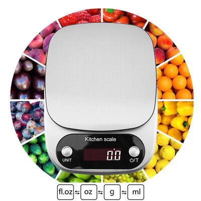 10KG Digital LCD Electronic Kitchen Cooking Food Weighing Weight Scales G/OZ/LB