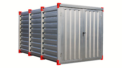 Blechcontainer Baucontainer Garage Gerätecontainer Container Lagercontainer NEU