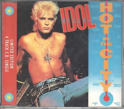 Billy Idol  CD-SINGLE  HOT IN THE CITY  (c)  1982 / 1988  MIX