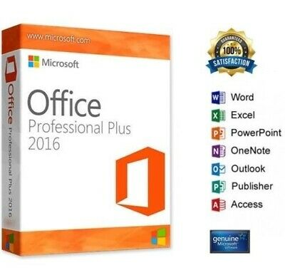 Oferta Office 2016 Professional Plus  Para Windows Español - Oferton  Stock -