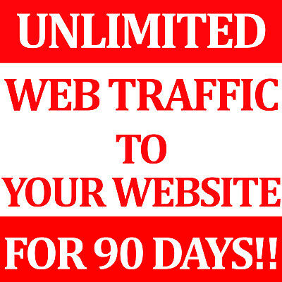 Unlimited Website Real High Quality Traffic For 3 months SEO + Live Stats