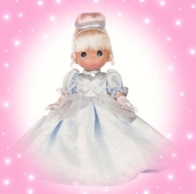 "Disney Cinderella Doll Classic  - Precious Moments 12"" Vinyl Doll"